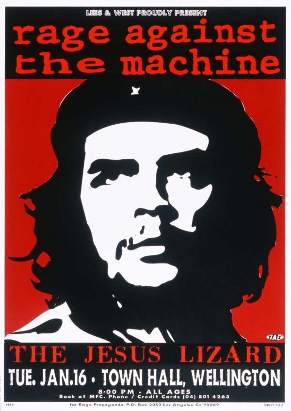 Che Rage Against The Machine TAZ