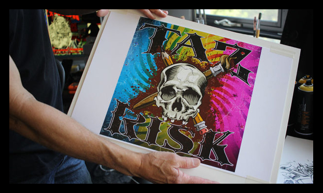 TAZ x RISK at Buckshot Gallery