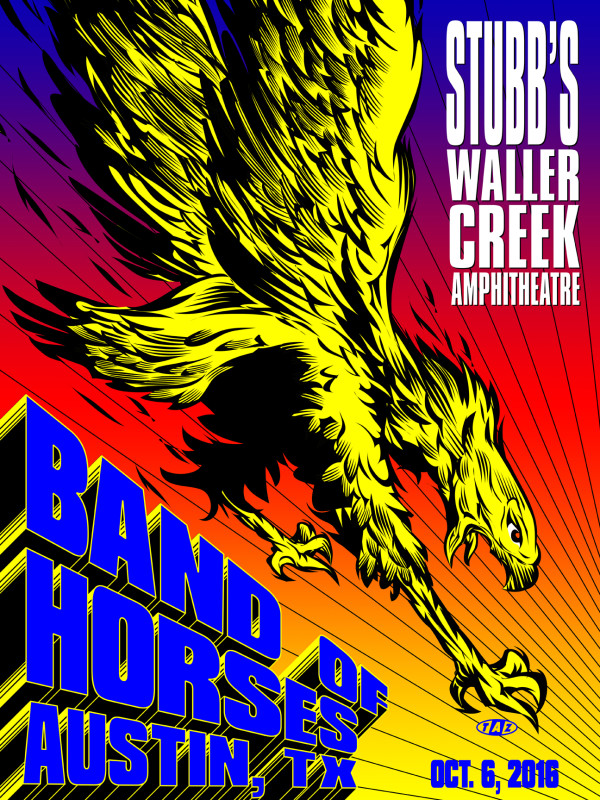 BAND OF HORSES BIRD