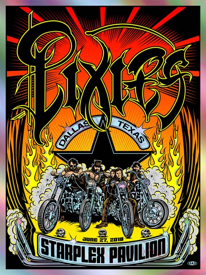 Pixies at the Starplex Pavilion (Foil Variant)